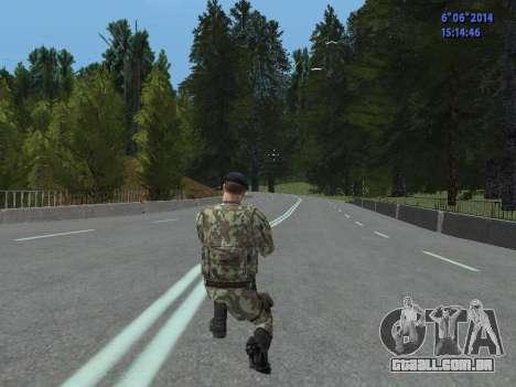 USSR Special Forces para GTA San Andreas sétima tela