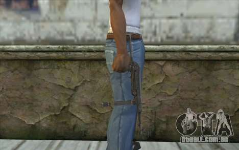 MP-40 Dual Mags para GTA San Andreas terceira tela