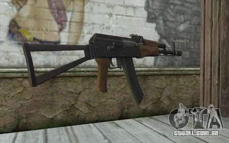 AK74 Rifle para GTA San Andreas segunda tela