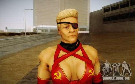 A mãe Rússia из Kick Ass 2 para GTA San Andreas terceira tela
