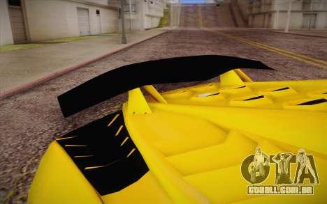 Zentorno из GTA 5 para GTA San Andreas vista direita