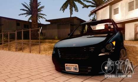 Karin Asterope V1.0 para GTA San Andreas vista superior
