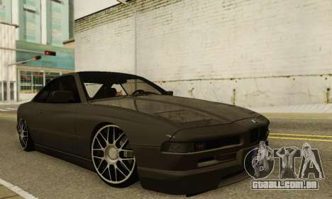 BMW 850CSI 1996 para GTA San Andreas vista superior