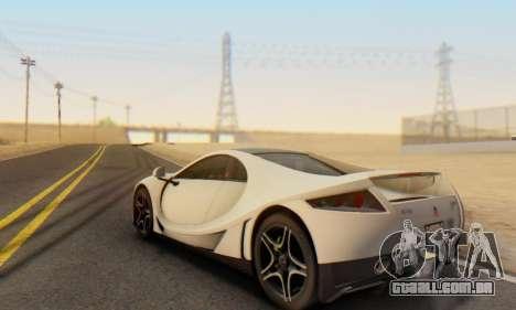 GTA Spano 2014 IVF para vista lateral GTA San Andreas