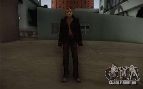 Jason Voorhees Modern Version para GTA San Andreas