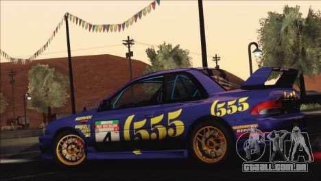 Subaru Impreza 22B STi 1998 para as rodas de GTA San Andreas