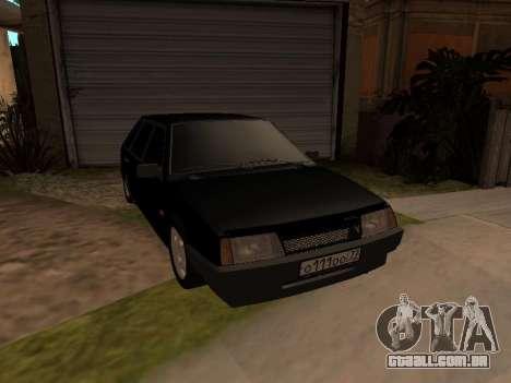 VAZ 2109 Bandido V 1.0 para GTA San Andreas