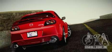 Mazda RX-8 Spirit R 2012 para GTA San Andreas esquerda vista