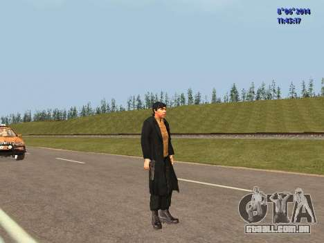 Danila do filme Irmão para GTA San Andreas terceira tela