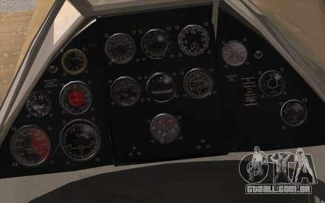 IAR 80 - Romania No 91 para GTA San Andreas vista direita