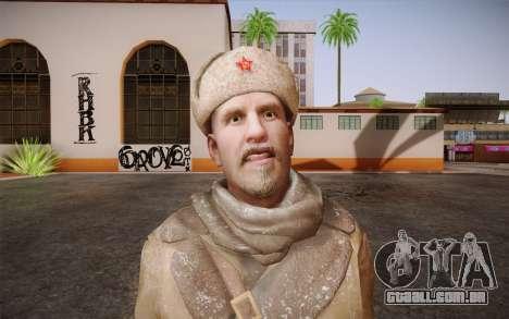 Viktor Reznov из CoD: Black Ops para GTA San Andreas terceira tela