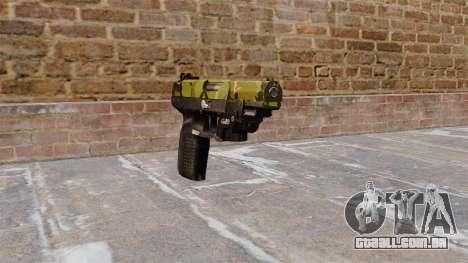 Arma FN Cinco sete LAM Floresta para GTA 4