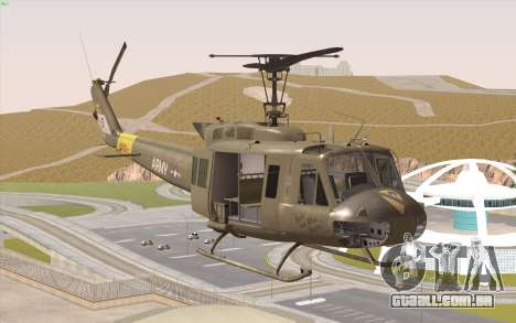 UH-1 Huey para GTA San Andreas