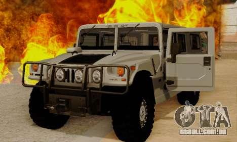 Hummer H1 Alpha para GTA San Andreas esquerda vista