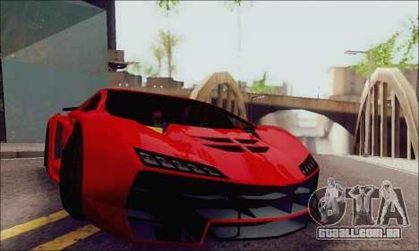 Zentorno GTA 5 V.1 para vista lateral GTA San Andreas