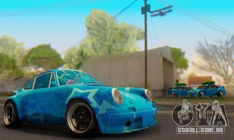 Porsche 911 Blue Star para GTA San Andreas