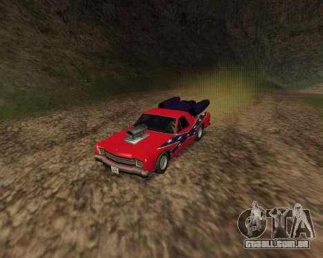 Rocket Picador GT para GTA San Andreas esquerda vista