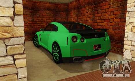 Nissan GTR Streets Edition para GTA San Andreas esquerda vista