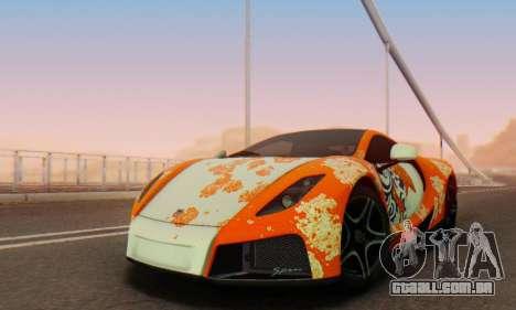 GTA Spano 2014 IVF para o motor de GTA San Andreas