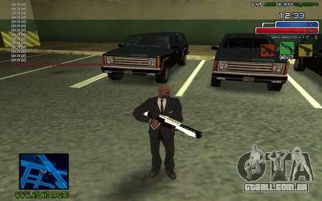 C-HUD SampHack para GTA San Andreas segunda tela