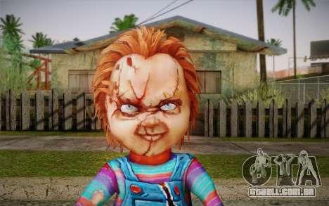 Chucky para GTA San Andreas terceira tela