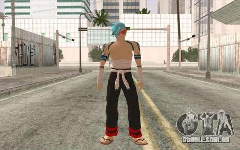 Kamina Sama para GTA San Andreas