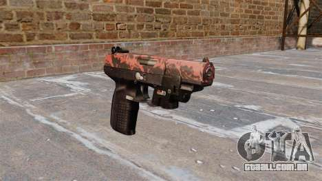 Arma FN Cinco sete LAM Red tiger para GTA 4