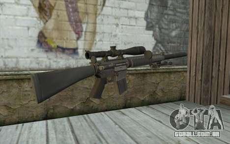 SC25 Sniper Rifle para GTA San Andreas segunda tela