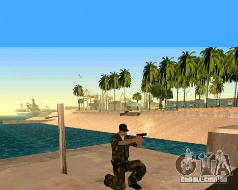 Glock из Cutscene para GTA San Andreas terceira tela