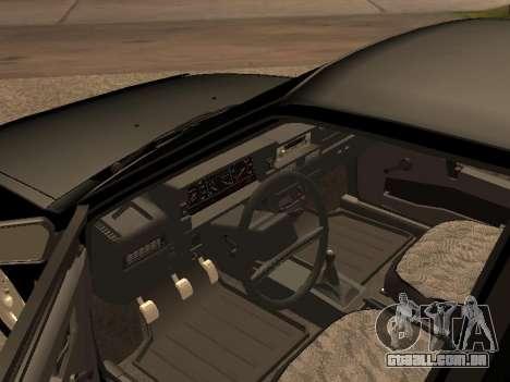 VAZ 2109 Bandido V 1.0 para GTA San Andreas vista traseira