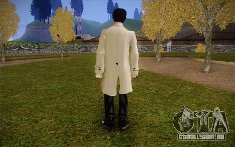 Castiel from Supernatural para GTA San Andreas segunda tela