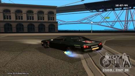 Elegy-Hotring para GTA San Andreas vista direita