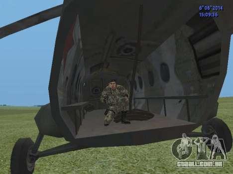 USSR Special Forces para GTA San Andreas quinto tela