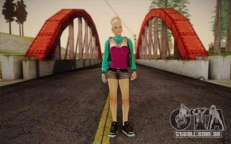 Menina bonita para GTA San Andreas