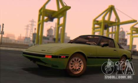 Mazda RX-7 GSL-SE 1985 HQLM para GTA San Andreas