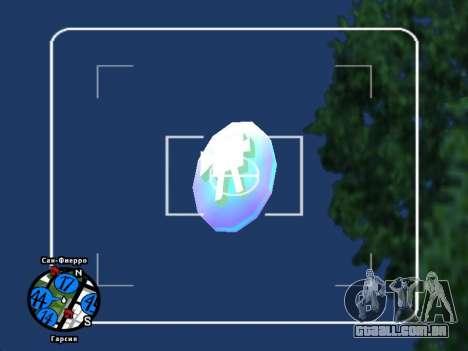 Hidden Photos Map para GTA San Andreas terceira tela