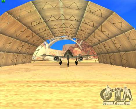 Messerschmitt Me.262 Schwalbe para GTA San Andreas esquerda vista