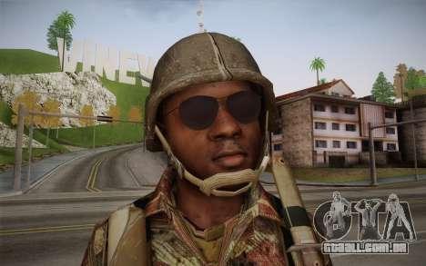 U.S. Soldier v1 para GTA San Andreas terceira tela
