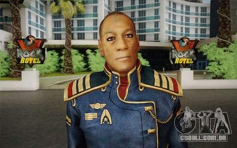 O capitão David Anderson из Mass Effect série para GTA San Andreas terceira tela