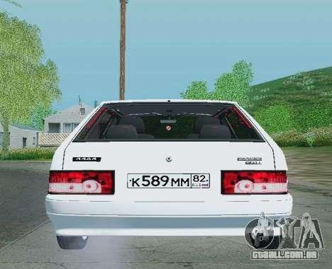 VAZ-21093 para GTA San Andreas vista direita