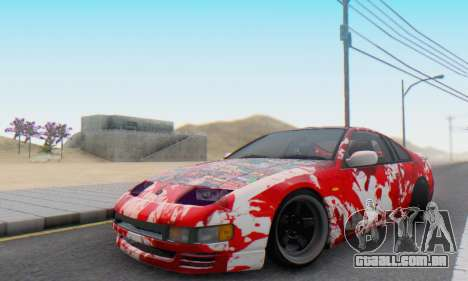 Nissan 300ZX Fairlady para GTA San Andreas vista interior