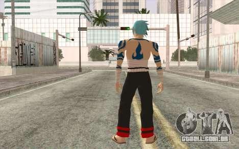 Kamina Sama para GTA San Andreas segunda tela