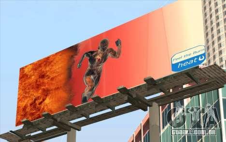 HQ Billiboards para GTA San Andreas segunda tela