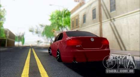 Volkswagen Jetta 1.4 Comfortline МТ para GTA San Andreas vista direita
