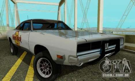 Dodge Charger 1969 Hard Rock Cafe para GTA San Andreas