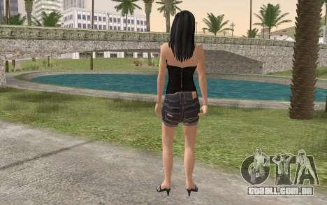 Casual Girl para GTA San Andreas segunda tela