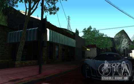 ENBSeries Configurações Makar_SmW86 v5.1 para GTA San Andreas quinto tela