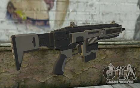 NS-11A Assault Rifle from Planetside 2 para GTA San Andreas segunda tela