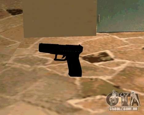 Glock из Cutscene para GTA San Andreas quinto tela