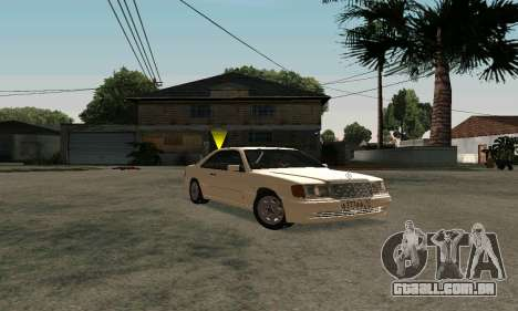 Mercedes-Benz W124 Coupe para GTA San Andreas